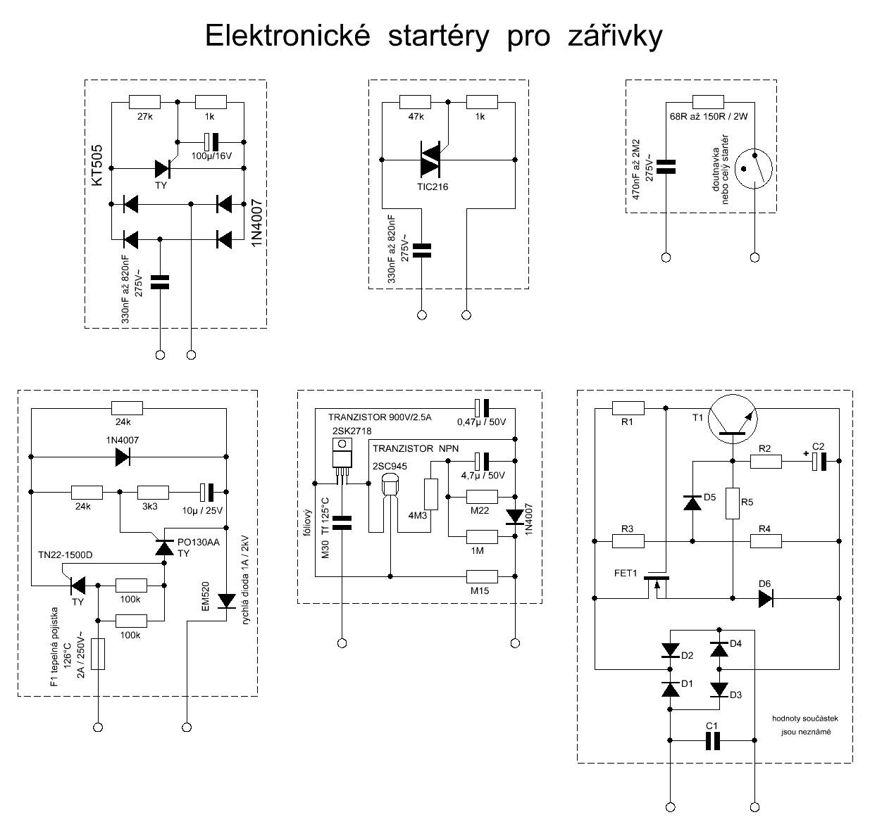 Jak Se Budi Zarivky Aneb Elektronicke Startery Vyvoj Hw Cz
